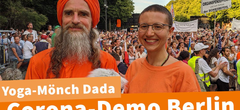 Diese Bewegung is unaufhaltbar - Dada Madhuvidyananda zur Corona Demo am 01.08. in Berlin