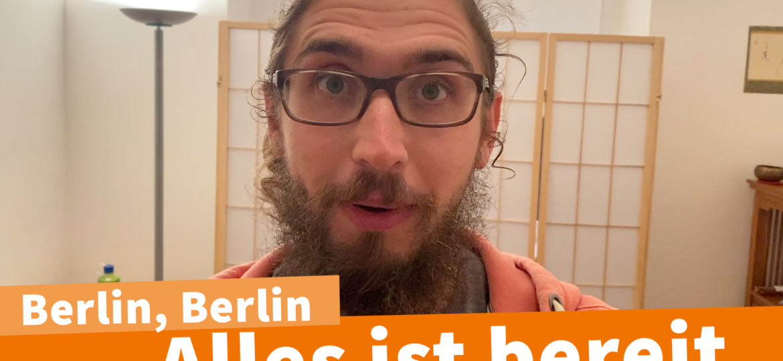 Es knistert in Berlin - Vorabend der Corona Demo am 29.08.