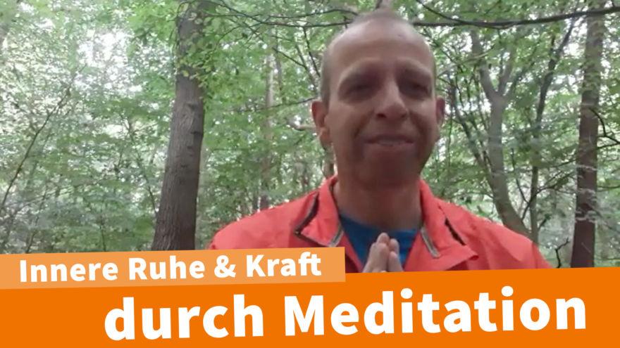 Innere Ruhe und Kraft durch Meditation Hitendra