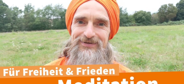 Meditation auf Großdemo am 29.08. in Berlin
