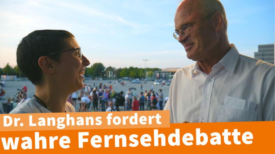 Dr Langhans Interview Ravensburg
