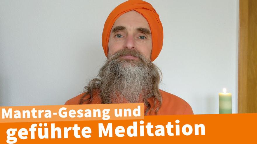 Geführte Meditation mit Gesang