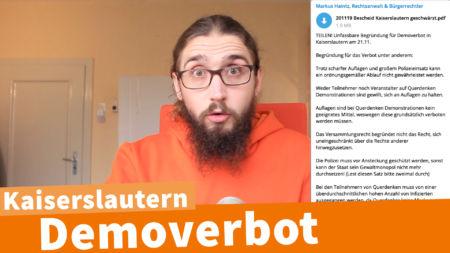 Showdown in Kaiserslautern - Erste Auswirkungen des Ermächtigungsgesetzes__