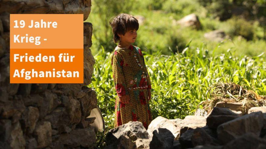 Afghanisches Mädchen