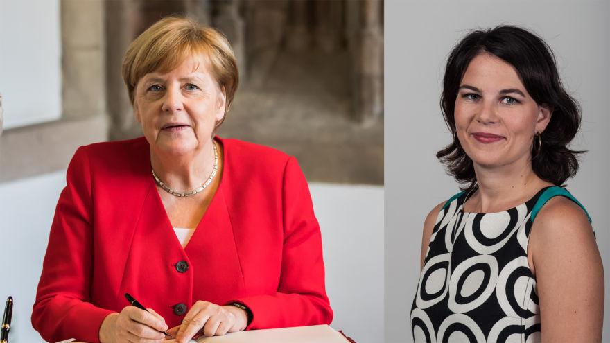 Merkel Baerbock
