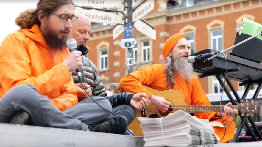 Demo in Hof