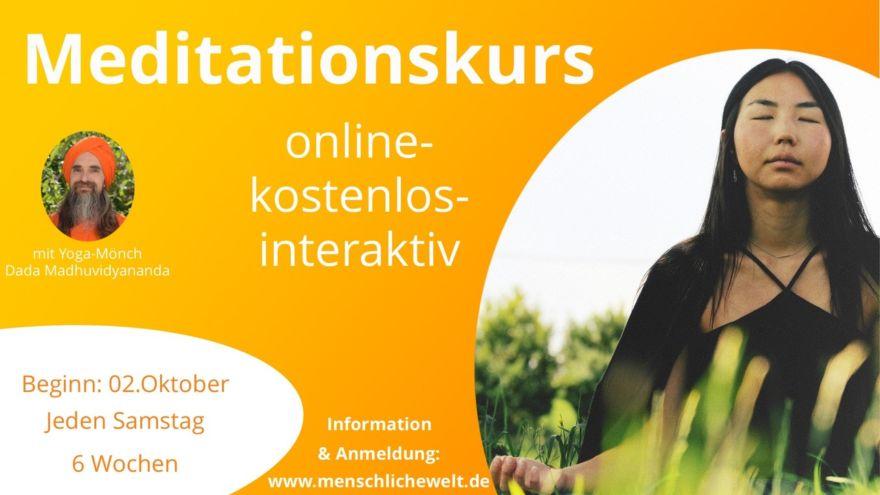 Flyer Onlinekurs quer